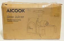 Aicook AMR509 Slow Masticating Juicer, Cold Press Juicer Machine Easy to Clean