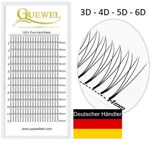 Wimpern-Volumen Einzelwimpern 3D Wimpern 3D Eyelash Extensions C/D wimpern