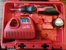 Milwaukee M12 Cordless Soldering Iron Kit w/1 Battery, Charger and Case #2488-21