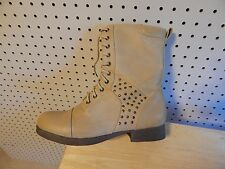 Womens Pink & Pepper boots - taupe color - jrconquer - size 7.5