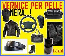 VERNICE NERO NERA RINNOVA COLORE PER PELLE INTERNI NERI AUTO MONOVOLUME SUV JEEP