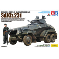 Tamiya 37024 German 6-Wheeled Heavy Armored Car Sd.Kfz. 231 1/35