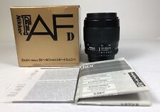 Nikon F AFd ZOOM Nikkor 35-80mm  f4-5.6D lens in box ex++++ condition