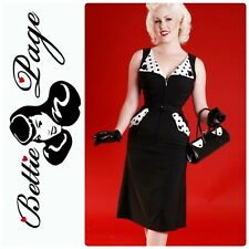 Modcloth Bettie Page Brigit Pin-Up Rockabilly Style Dress