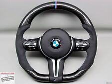 BMW F80 M3 F82 M4 F15 X5M F16 X6M M Ring Flat Bottom Thick CARBON Steering WHEEL