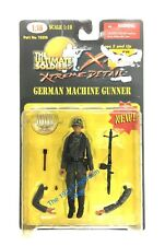 1:18 21st Century Toys Ultimate Soldier WWII German Army Machine Gunner Figure
