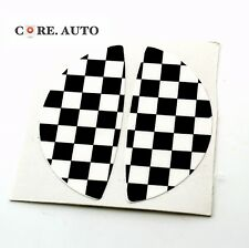 Mini Cooper Countryman Black And White Checkered Sticker Car  Handle Decal
