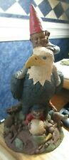 "Tom Clark Par Gnome Eagle Golf 1096 Signed Figure Cairn 1985 12.5"" Retired Euc"