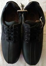 Earth Spirit Men's Shoes Casual Powell Oxford Black Size 9.5 FREE SHIPPING!!