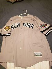 Roger Clemens 2001 World Series jersey 56 XXXL New York Yankees