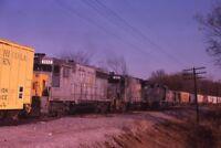 L&N LOUISVILLE & NASHVILLE Railroad Locomotives Original 1979 Photo Slide