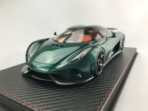 Koenigsegg Regera Green Carbon 1/18 AvanStyle FrontiArt Limited 398pcs AS025-11