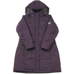 JACK WOLFSKIN Stormlock Active Puffer Coat | Large | Insulated Jacket Hood Parka