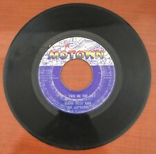 Motown Record 45 RPM Diana Ross & The Supremes Love Child / Will This Be The Day