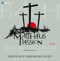 Nikolaus Harnoncourt - Bach, Js : St Matthew Passion (NEW 3CD)