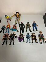 Lot Of 14 Assorted Vintage 90's Action Figures