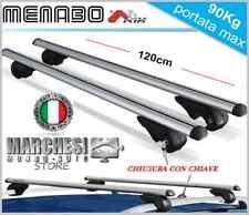BARRE PORTATUTTO AUDI A4 AVANT DAL 2000 AL 2008 CON RAILING E CHIAVE ANTIFURTO