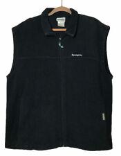 Remington Fleece Zip Up Vest Men's XL Black Soot Gun Hunting Outdoors