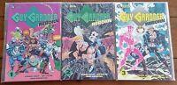 GUY GARDNER REBORN  1, 2, 3 (OF 3 BOOKS), DC COMICS, 1992, VF-