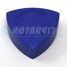 ROTOR SHAPED BRAKE / CLUTCH MASTER CYLINDER CAP COVER RX-7 RX7 13B 20B BLUE