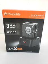 Thermaltake BlacX Duet Hard Drive Enclosure Docking Station - Black