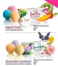 Avon Bath Bombs Fruit Fizz & Summer Garden 6x100g RRP£10