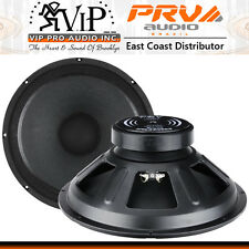 """PRV Audio 15W800A 15"""" Alto Series Pro Woofer 8Ohm 400W For Guitar Cabinets *PAIR"""