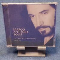 La Historia Continúa...Parte III by Marco Antonio Solís (CD, Feb-2007, Fonovisa)