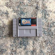 Illusion of Gaia (Super Nintendo SNES, 1994) Authentic, Tested (Loose)