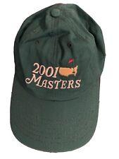 2001 Masters Golf Tourney Baseball Cap