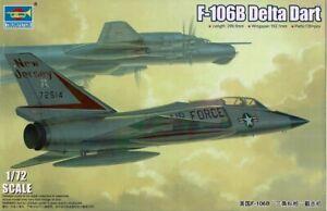 1/72 TRUMPETER 01683; Convair F-106B Two Seat Delta Dart
