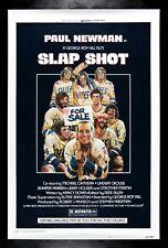 SLAP SHOT ✯ CineMasterpieces RARE ROLLED PAUL NEWMAN MOVIE POSTER 1977 HOCKEY