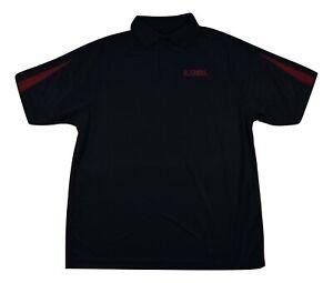 J America Mens Alabama Crimson Tide Polo Shirt New L, 2XL