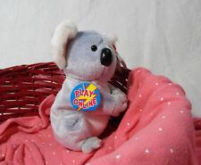 2008 TY Beanie Babies 2.0 Aussie the Koala Bear Plush Unused Code