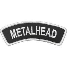 METALHEAD BANNER SEW-ON PATCH BLACK SABBATH MOTORHEAD