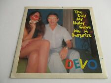 """DEVO The Day My Baby Gave Me A Surprize/ Penetration Vinyl 7"""" 45 RPM UK 1979 NM+"""