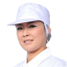 New White Catering Hat Chef Bakers Bouffant Cap Food Hygiene Snood Cap NP2Z