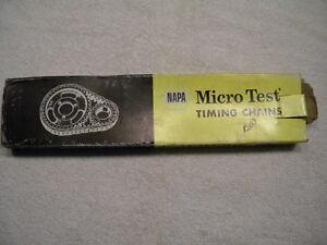 NOS Steel NAPA Micro Test Timing Chain 9-489 (Chevrolet/Corvette/Chevelle) SBC