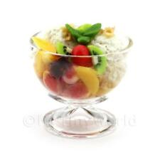 Puppenhaus Miniatur gemischten Frucht und Molkerei Eiscreme to Share