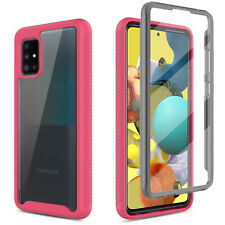 For Samsung Galaxy A51 5G A21 Case Protective Cover Built in Screen Protector
