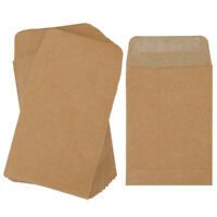 100pcs Coin Envelopes Kraft Paper Thicken Seed Packets Multifunctional Envelopes