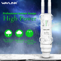 Wavlink N300 High Power Outdoor WIFI Repeater Wireless Lot 2.4G Weatherproof POE