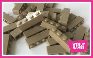 LEGO Brick Bundle - 25 Pieces - Size 1x4  - Choose Your Colour