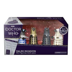 Doctor Who Dalek Invasion Mini Figures Multi-Pack