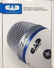 CAD AUDIO - Zoe - USB CONDENSATORE REGISTRAZIONE MICROFONO W trak-mix cuffia