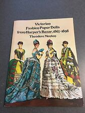 Victorian Fashion Paper Dolls From Harper's Bazar, 1867-1898 Color Paperback