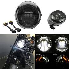 70W Motorcycle LED Headlight DRL Indicator Light For Harley VROD VRSCA VRSC 1pcs