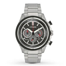Citizen Watch - Mens Eco-Drive TI + IP - CA4240-82E