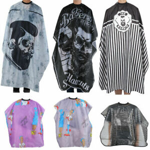 Large Hair Cutting Cape Salon Hairdressing / Hairdresser Gown Barber Cloth Apron