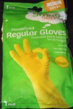 "Smart Sense Household Regular 12"" Gloves  / Medium  2 Pairs"